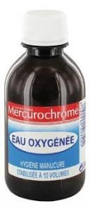 eau oxygénée merchurochrome