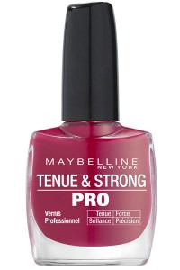 vernis gemey maybelline_tenue&strong pro_265 orchidée -divine wine