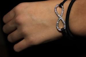 main,bracelet,elastique